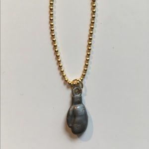 Jewelry - Boxing 🥊 Glove Crackerjack Charm Necklace